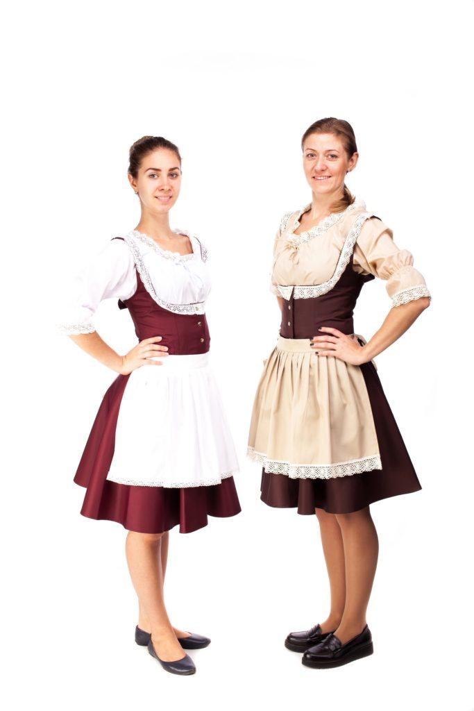 168635 Костюм для офіціантки в баварському стилі - HM design 4182480dc5ca6