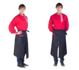 пошив униформы официанта