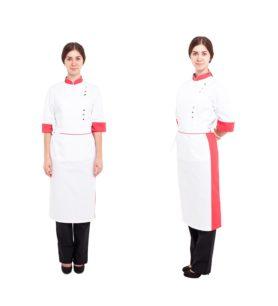 1505 Кітель кухарський жіночій та фартух 1505 147ce74b2ad2c