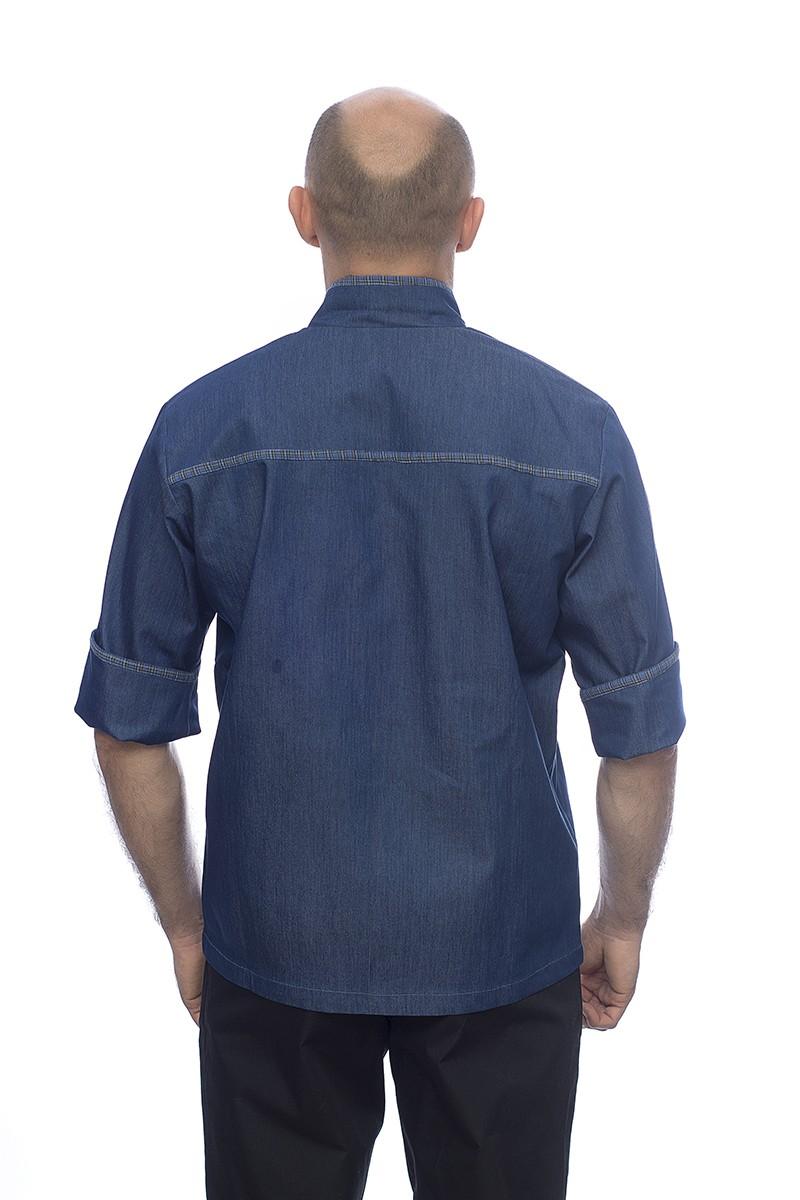 19003 Китель поварской джинсовый