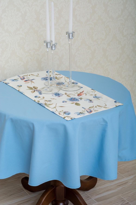 Скатертина – тканина ЛД TDRM-300 Доріжка – тканина ЛД 141035v2