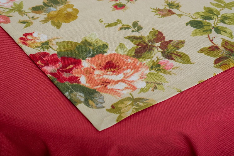 Скатертина – тканина ЛД DRK-7437 Доріжка – тканина ЛД 170913v7